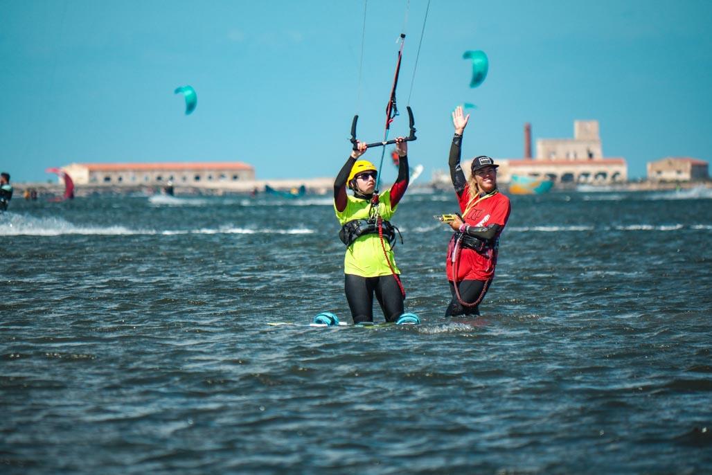 kite course sicily