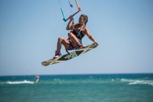 kitesurfing freestyle Sicily